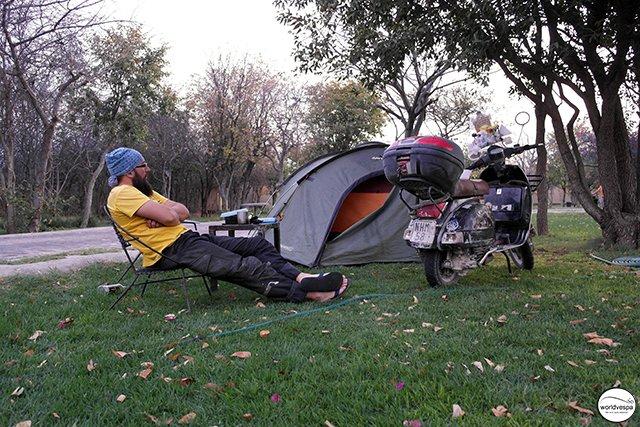 Etosha camping